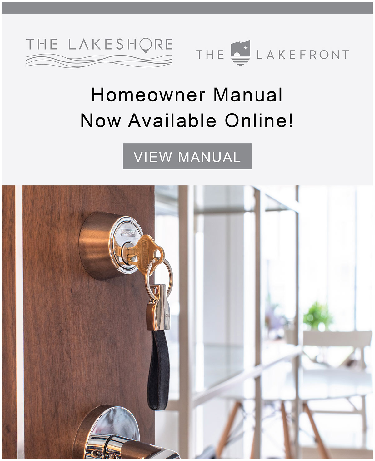 Homeowner Manual Now Available Online!